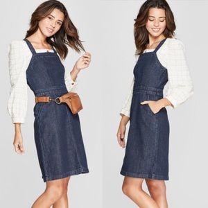 Universal Thread Denim Overall Dress